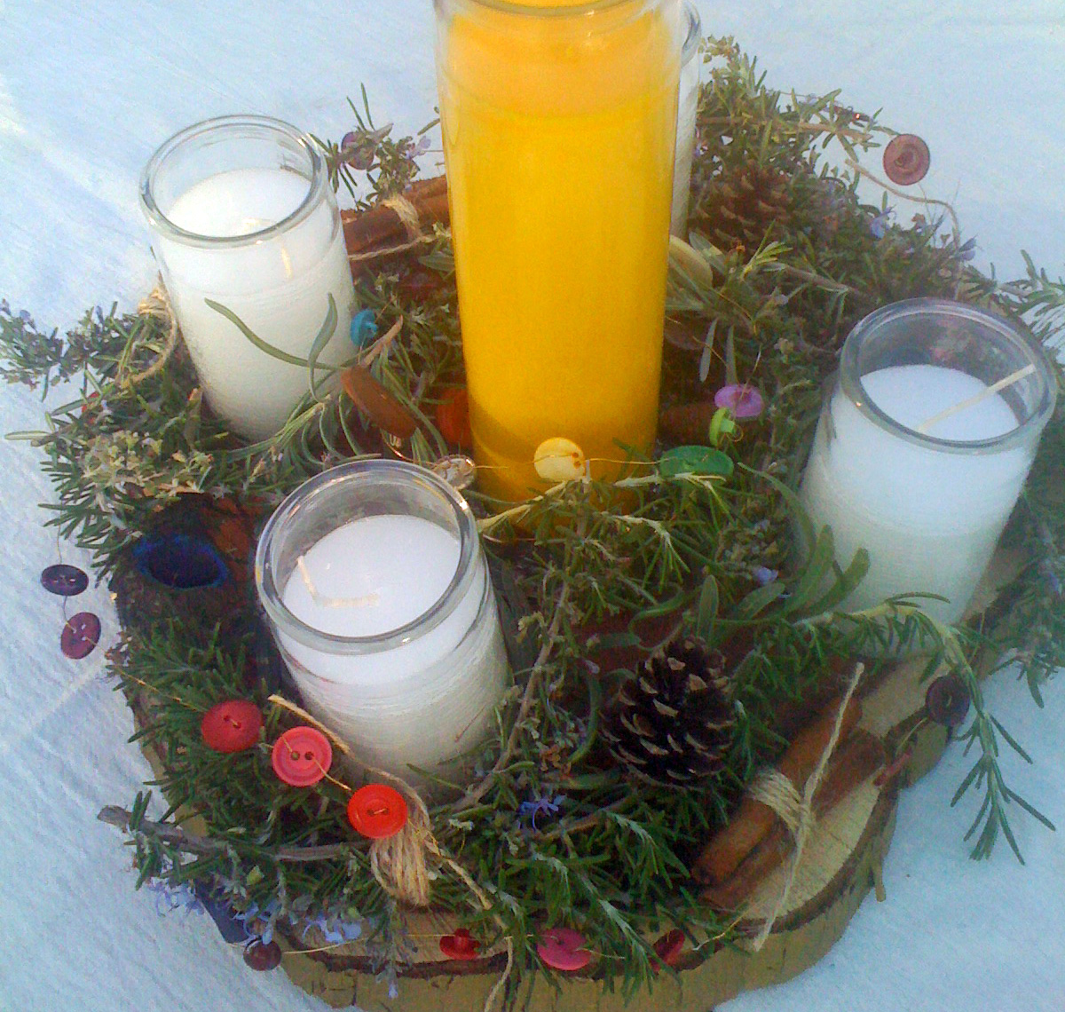 Advent Wreath _Closeup