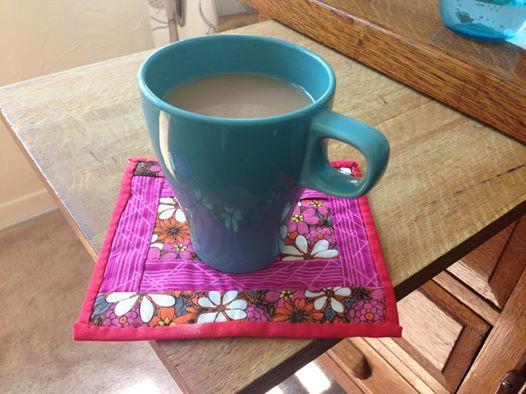 Quilted Mug Rug