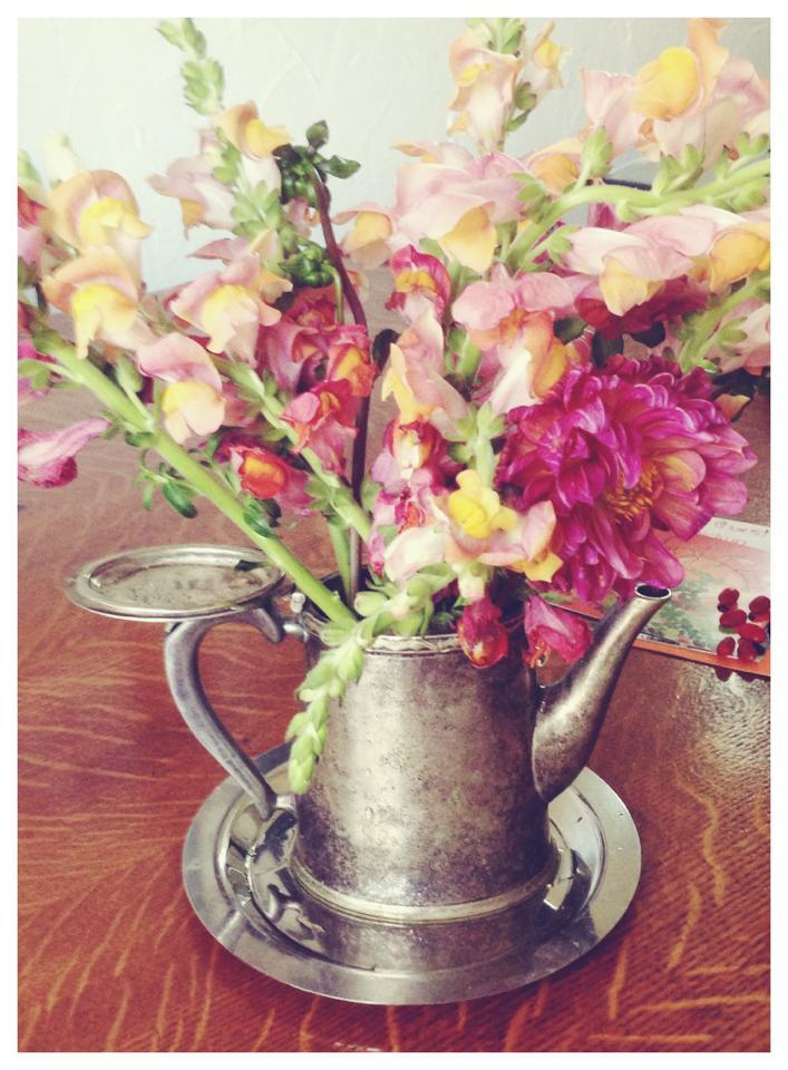 Blooming Teapot